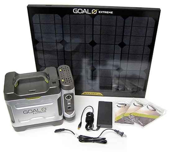Goal Zero Adventure Kit Contents