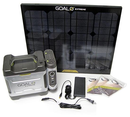 Goal Zero Adventure Kit Contents