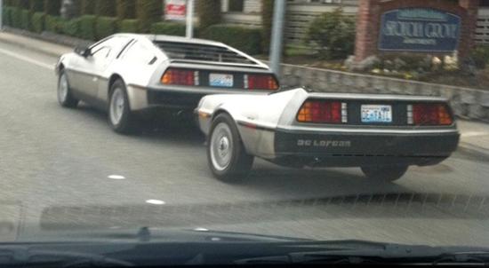 DeLorean Trailer