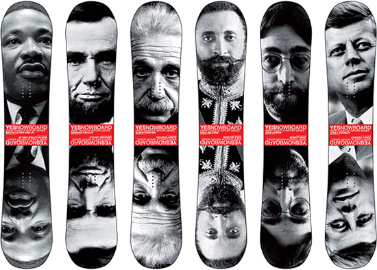 Gread Dudes Of History Snowboards