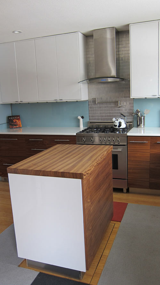 Motorized Kitchen Island