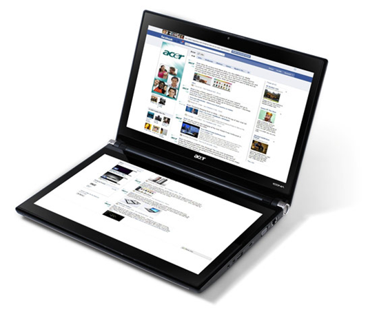 Acer Dual-Screen Iconia-6120