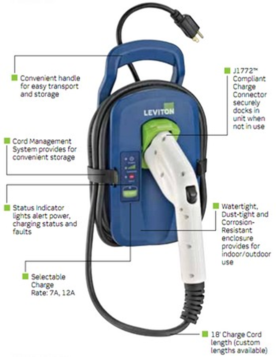 Leviton Evr-Green Portable Charger