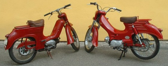 New JAWA Pioneer Scooter