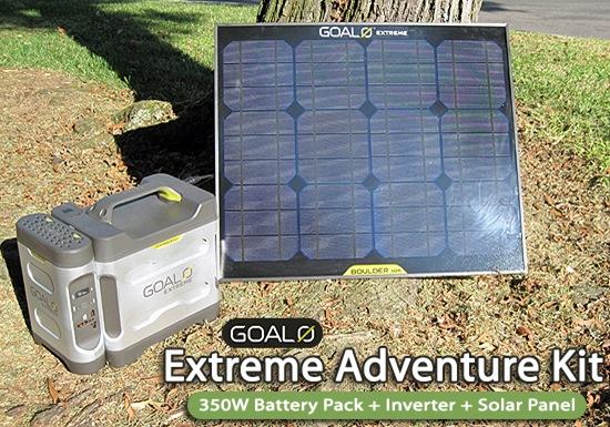 Goal Zero Extreme Adventure Kit