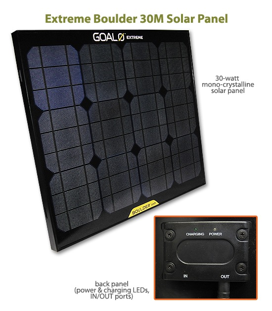 Extreme Boulder 30M Solar Panel