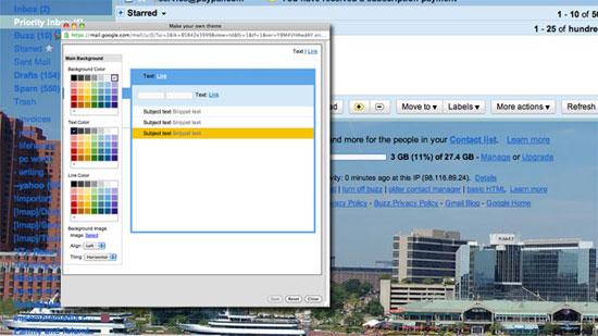 Customize Gmail