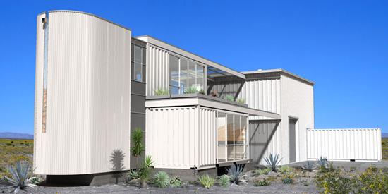 Ecotechdesign Shipping Contaner House