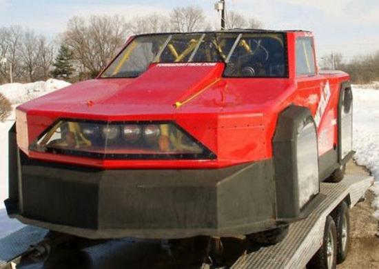 Tornado Proof Car