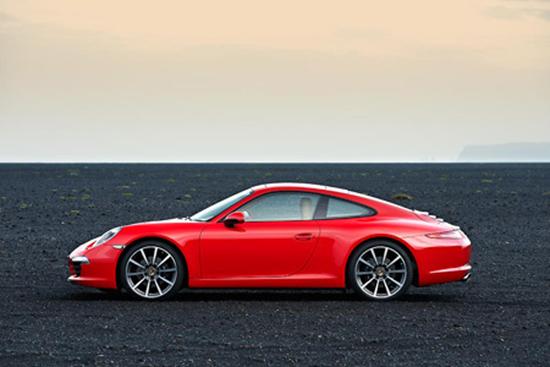 Red 2012 Porsche 911 Carrera