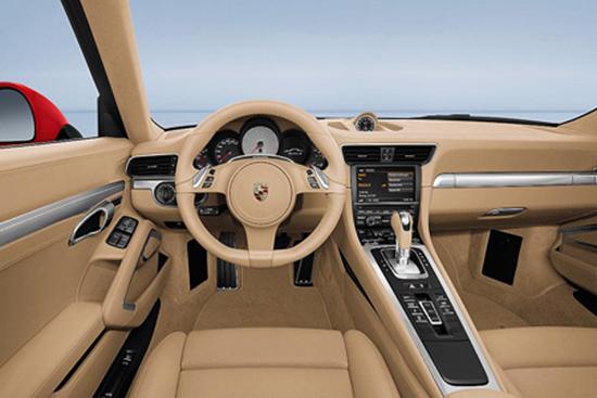 2012 Porsche 911 Carrera Interior