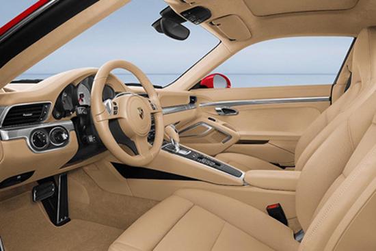 2012 Porsche 911 Carrera Tan Interior