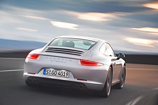 2012 Porsche 911 Carrera Silver