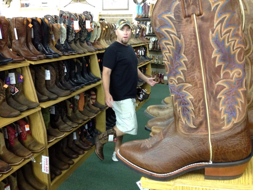 Boot Shopping