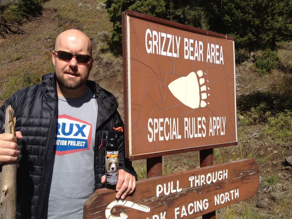 grizzly bear country