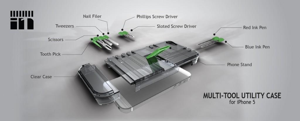 in1 iPhone 5 multi-tool case