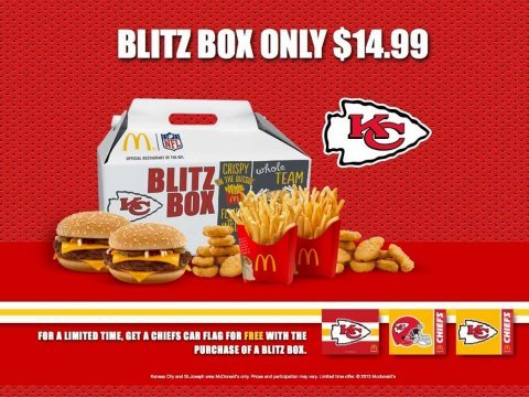 McDonalds Blitz Box