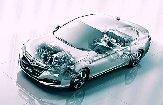 2014 Honda Accord Hybrid Cutaway