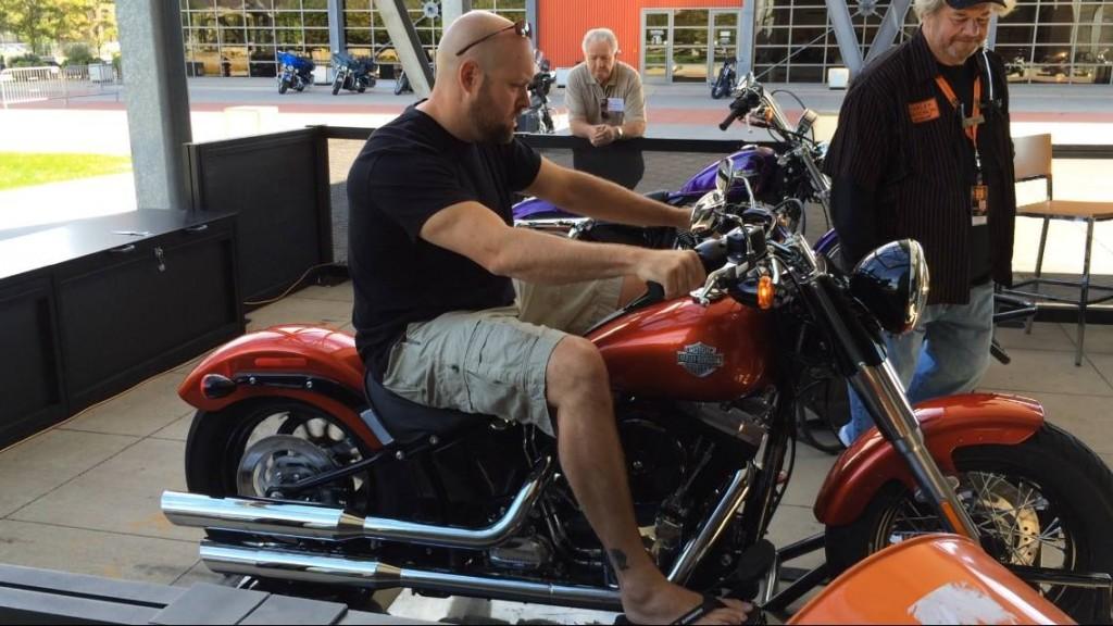 Harley Davidson Museum Test Drive