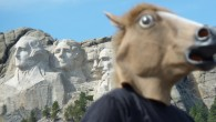 Mt Rushmore Horse Head