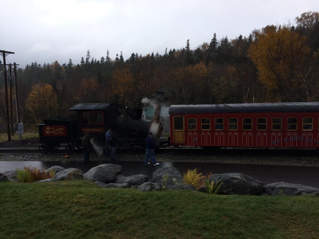 Mt Washington Cog Railway Steam Train