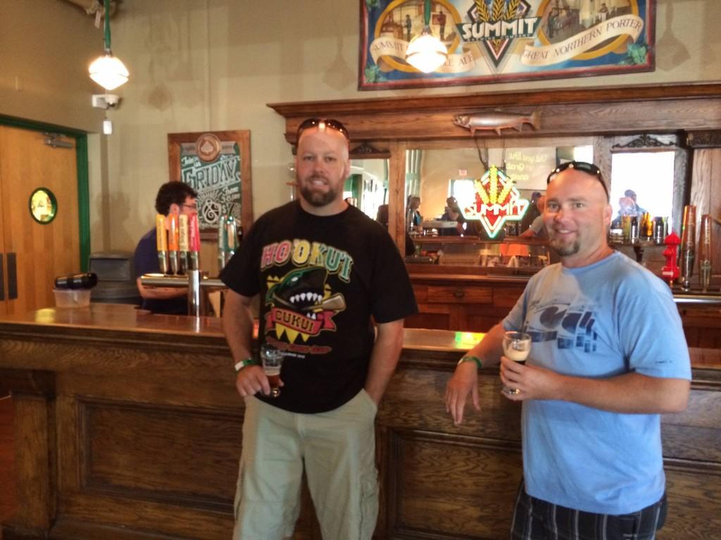 Summit Brewery Bar
