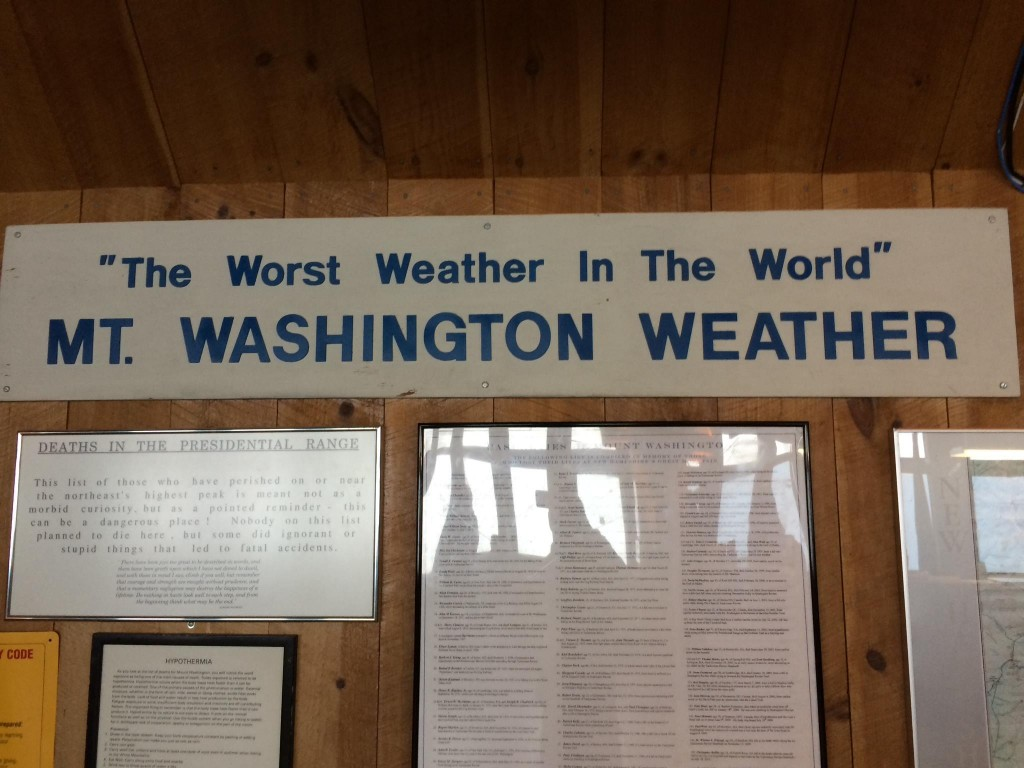 Mt Washington The Worst Weather In the World