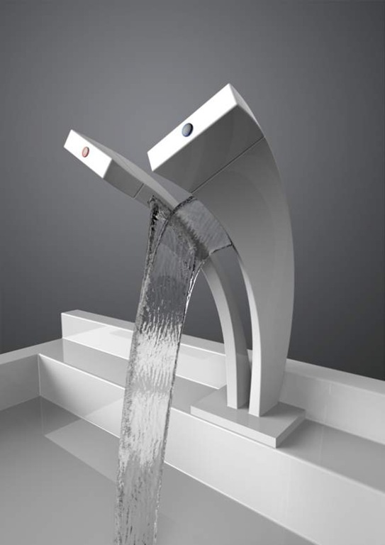 Pavati Tap Separates The Hot And Cold Water Streams