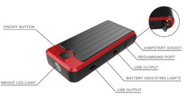 powerall-pbjs12000r-rosso-red-black-portable-power-bank-and-car-jump-starter