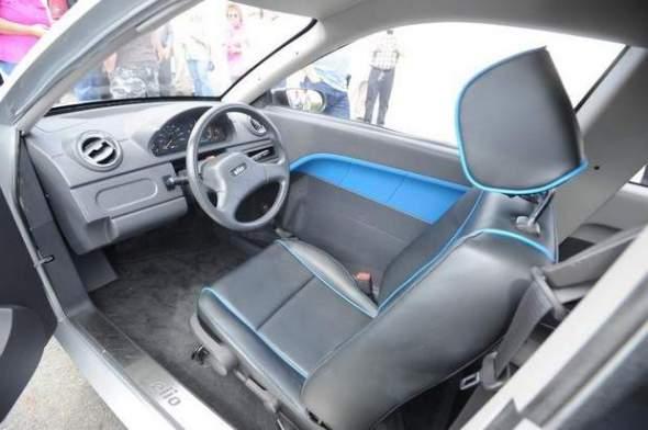 Elio Motors Interior