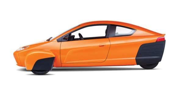 Elio Motors Car Side View