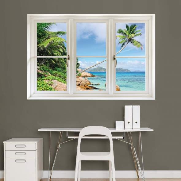 Beach_Window_Wall_Decal_Art