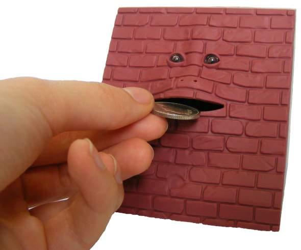 Face Bank Coin Eating Bank
