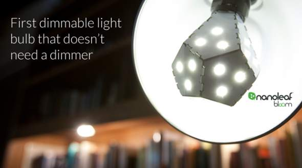 Nanoleaf Bloom Dimmable LED bulb