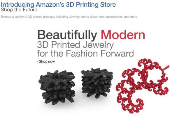 Amazon 3D Printing Store