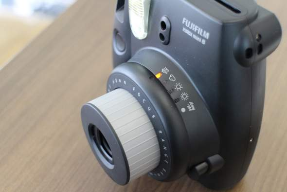 Fujifilm Instax Mini 8 lighting settings