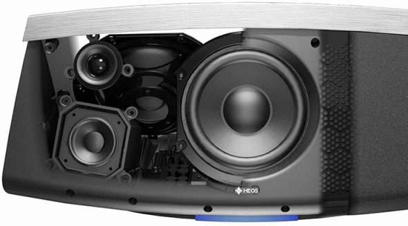 Denon HEOS 7 Speaker Cutaway