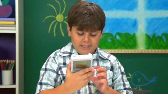 KIDS REACT TO GAME BOY VIDEO