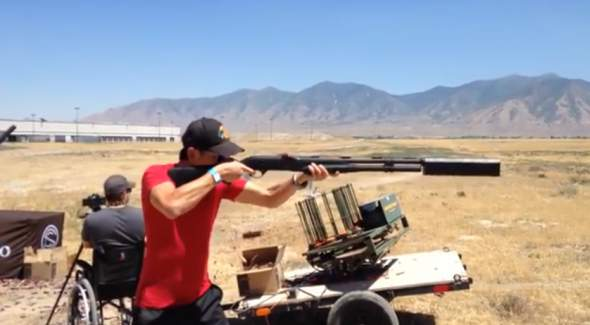 Silenced Shotgun Video