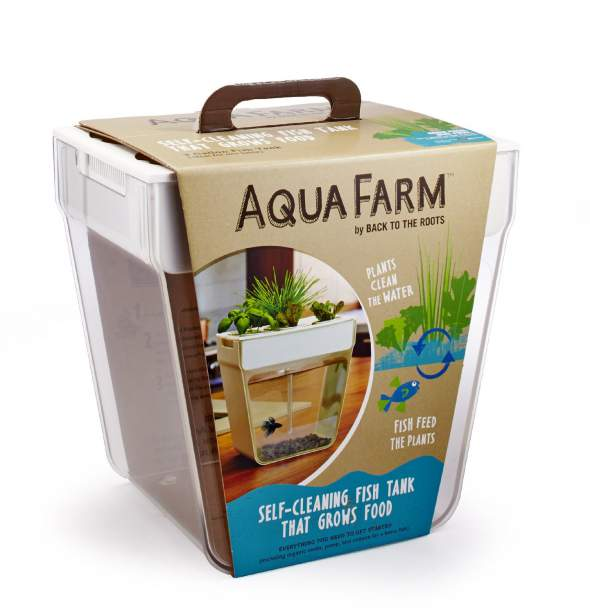 Aqua Farm Self Cleaning Fish Tank That Grows Food