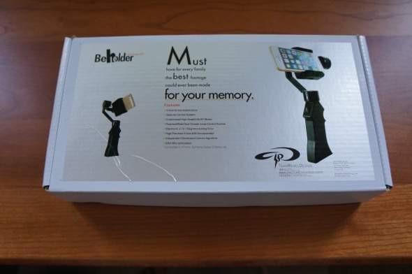Behloder Handheld SP Gimbal Review Box