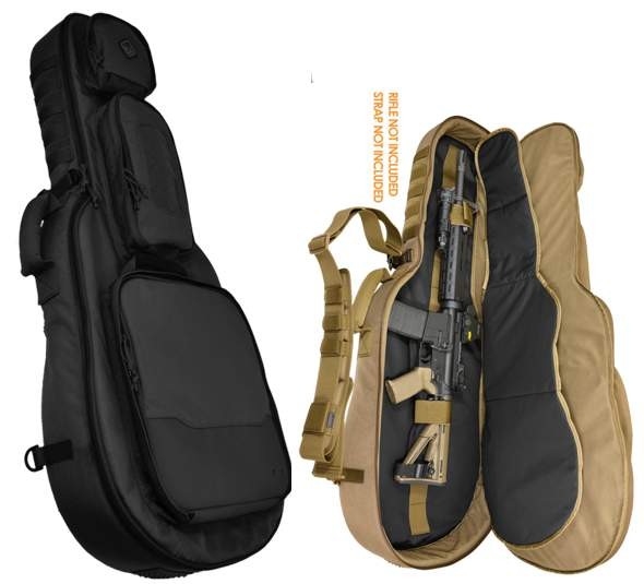 Hazard 4 Battle Axe Guitar Rifle Case