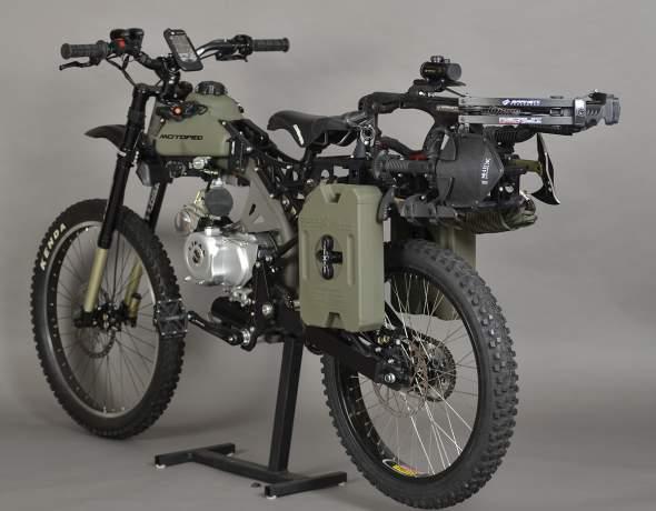 Motoped Survival Bike back