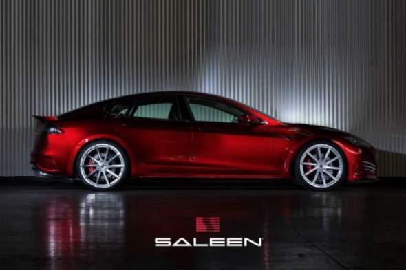Saleen Tesla Model S Foursixteen P85