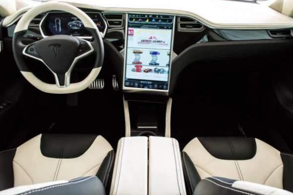 Saleen Tesla Model S Interior