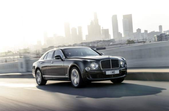 2015 Bentley Mulsanne Speed Front