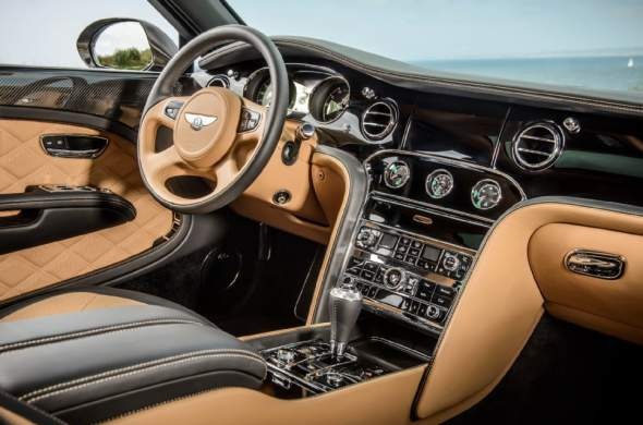2015 Bentley Mulsanne Speed Intereior