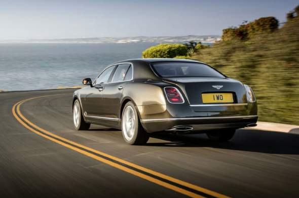 2015 Bentley Mulsanne Speed Rear