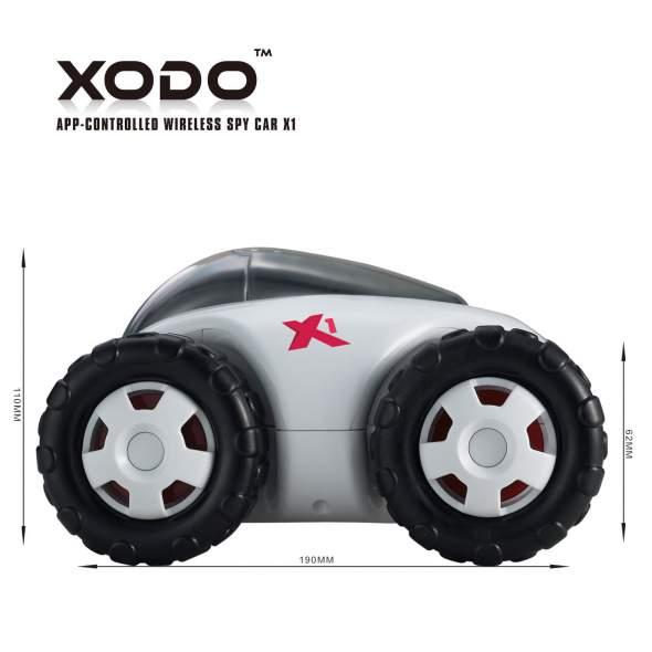 XODO X1 Spy Car Measurments