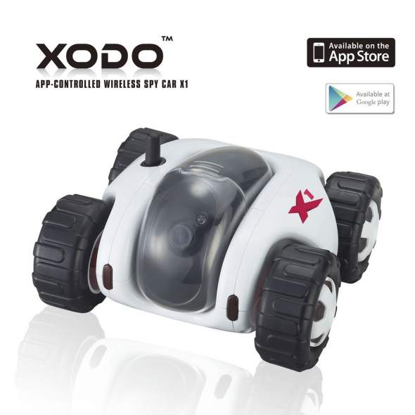 XODO App-Controlled Spy Car X1 Reduced From $229 To $89 This Week Only ...